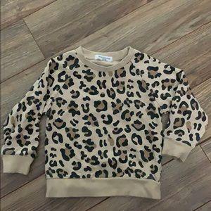 Other - Cheetah Print Shirt (toddler size 3t)